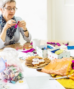 The Open Works Festival - The Stitch Launch at L'Arche Norwood