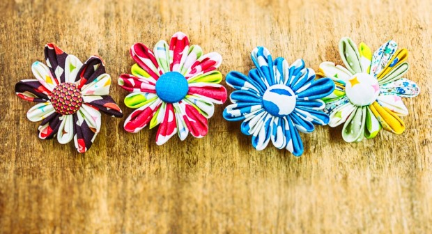 Decorative brooches