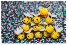 pyramid of Bees!