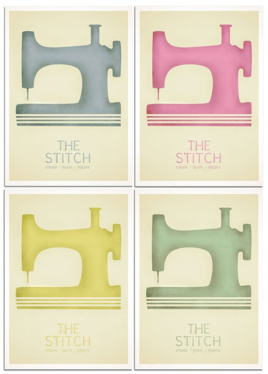 The Stitch single sewing machine with textures version 2