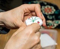 A tiny little pin cushion