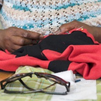 upcycling a skirt