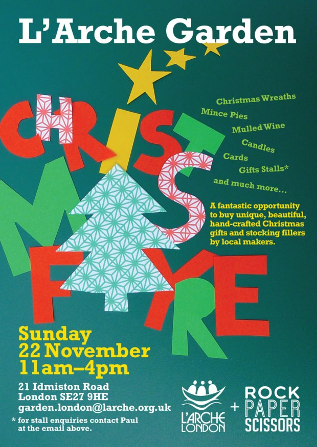 L'Arche & RPS London Christmas Fayre 2015