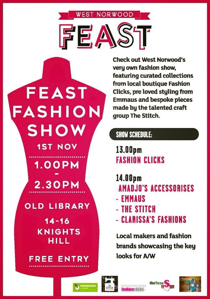 Feast Fashion Show 1st November 2015