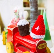 the next time you see the Christmas Pudding and Santa Hat they will have a chocolate & bell added!