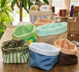 Fabric baskets of all sizes
