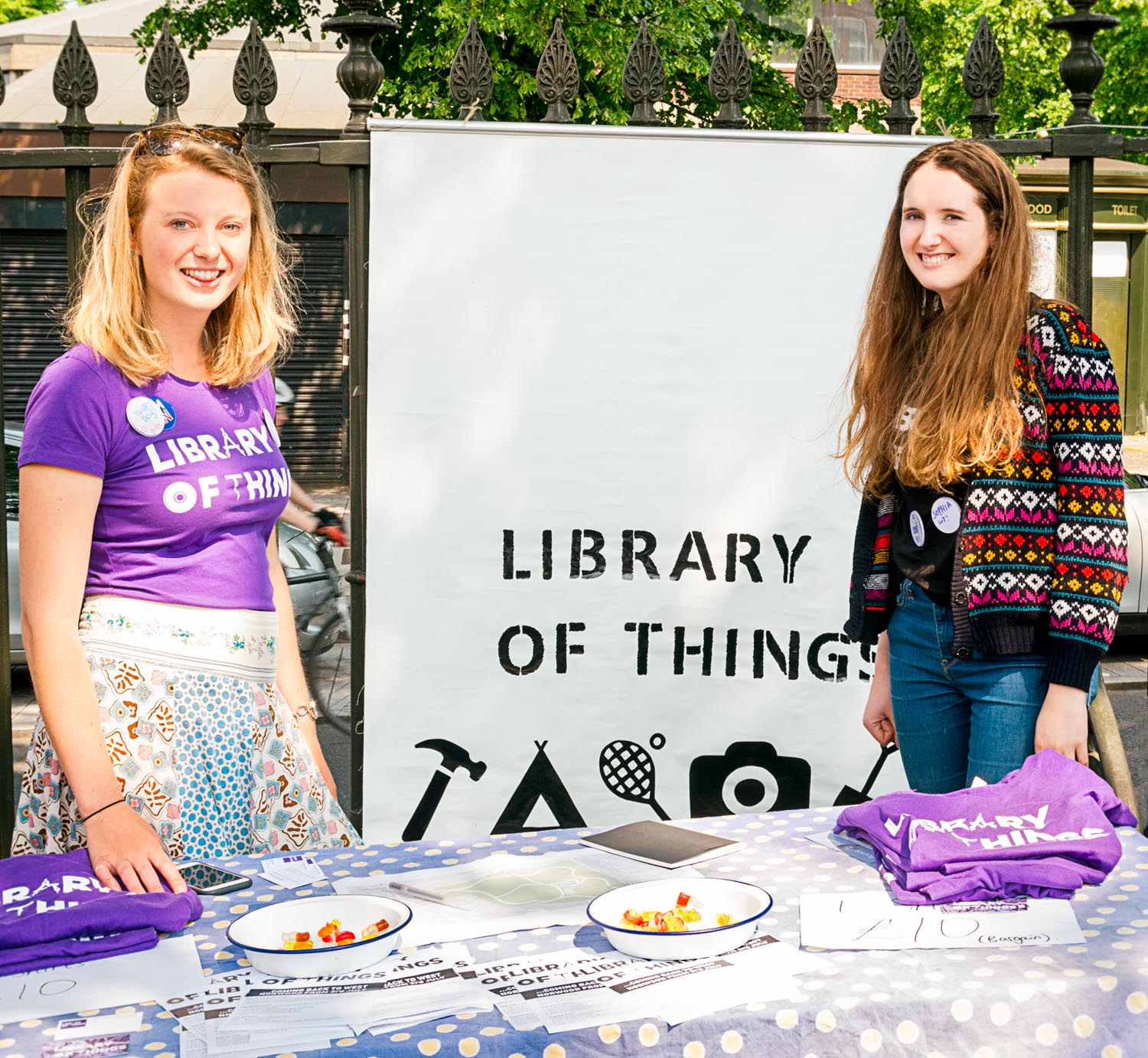 Library of Things at West Norwood Feast June 2016