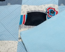 Each Blanket is backed with soft thick fabric