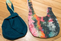 rounded bottom project bags