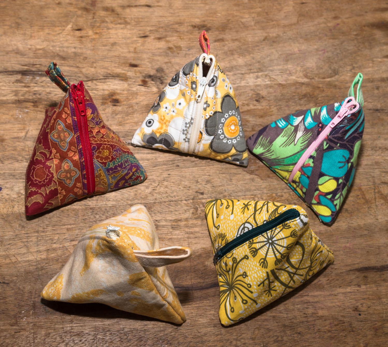 Stitch - Triangle Pouches & more