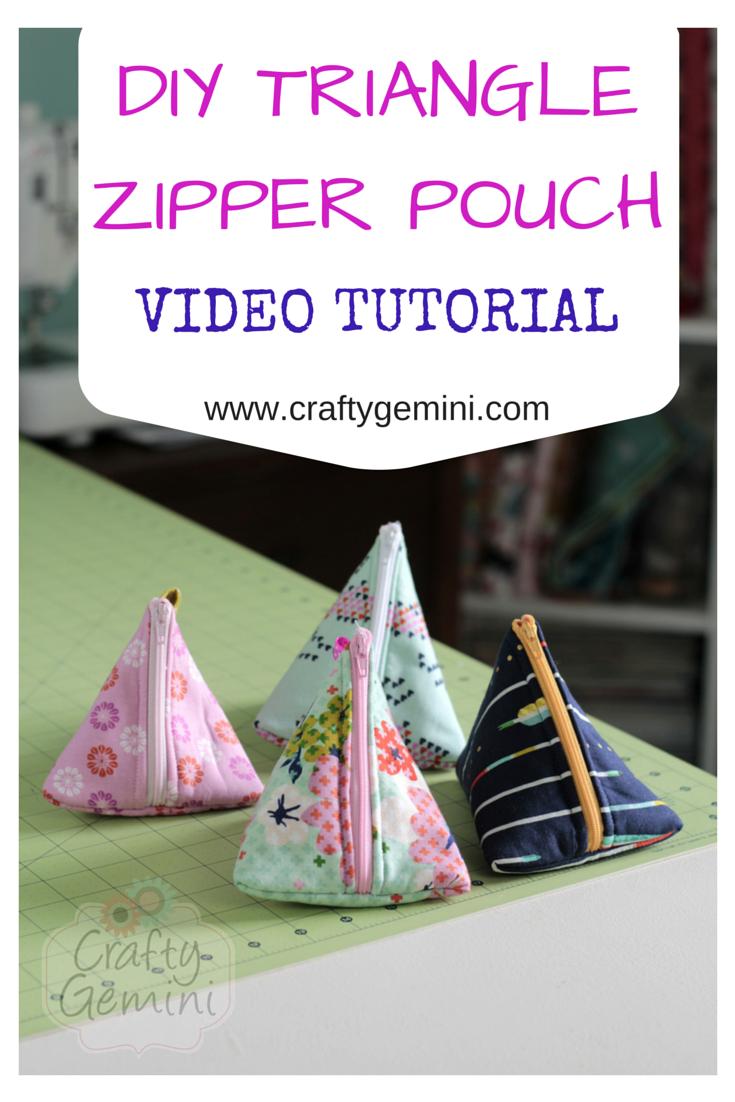triangle-zipper-pouch