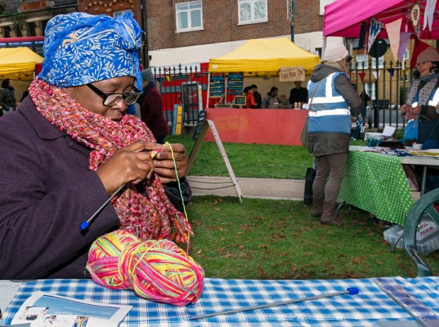 Knitting West Norwood Together with The Stitch & WN Feast Knital