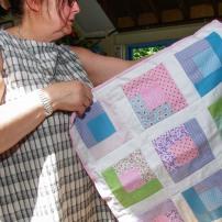Making Linus Blankets